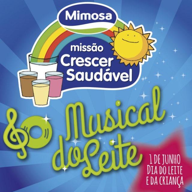 Lançamento do Musical do Leite no dia 1 de junho