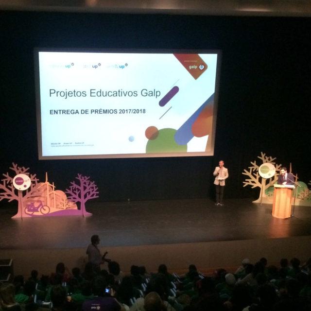 Entrega de prémios aos vencedores dos Projetos Educativos Galp